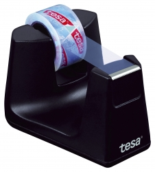 Tischabroller Smart ecoLogo® - inkl. 1 Rolle Klebefilm kristal-klar