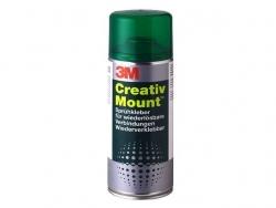 Sprühkleber Creativ Mount(TM), wieder ablösbar, transparenter Auftrag, 400 ml