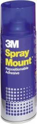 Sprühkleber Spray Mount(TM), wieder ablösbar, transparenter Auftrag, 400 ml