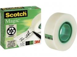 Klebeband Magic 810, Zellulose Acetat, unsichtbar, beschriftbar, 33 m x 19 mm