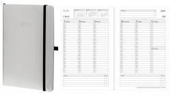 Wochenkalender - A5, Softcover, weiß, 1 Woche / 2 Seiten
