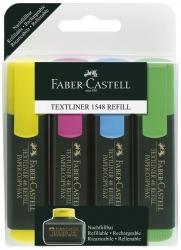 Textmarker 48 REFILL nachfüllbar, 4 Farben, im Etui