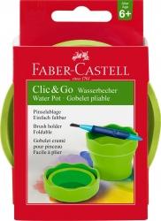 Wasserbecher CLIC & GO - hellgrün