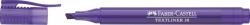 Textmarker 38 Stiftform - violett