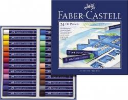 Creative Studio Ölpastellkreide, 24 Farben sortiert im Kartonetui