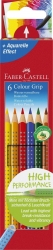 Buntstift Colour GRIP - 6 Farben sortiert, Kartonetui