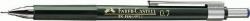 Druckbleistift TK® FINE, 0,70 mm, Härtegrad: HB, Schaft: grün