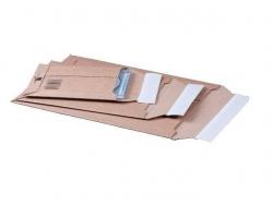 Versandtaschen Wellpappe 340x500x50 mm (A3), braun