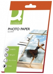 Inkjet-Photopapiere - 10x15 cm, hochglänzend, 180 g/qm, 25 Blatt