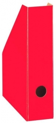 Stehsammler Color schmal, 70 x 225 x 300 mm, rot