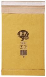 Jiffy Größe 00 - 120 x 229mm, braun