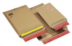 Versandtaschen Wellpappe 235x340x35 mm (A4+), braun