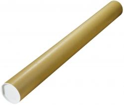 Versandrohre mit vormontierten Verschlusskappen Ø 1000x100 mm, braun