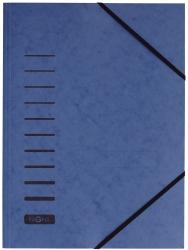Gummizugmappe - A4, 150 Blatt, blau