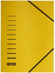 Gummizugmappe - A4, 150 Blatt, gelb