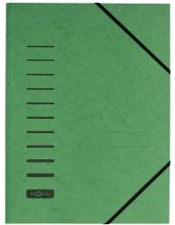 Gummizugmappe - A4, 150 Blatt, grün