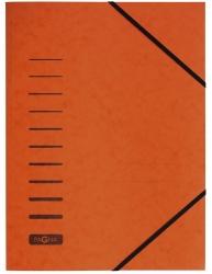 Gummizugmappe - A4, 150 Blatt, orange