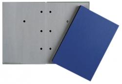 Unterschriftsmappe - 20 Fächer, blau