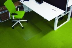 Ecogrip® Bodenschutzmatte für hochflorige Teppichböden - Form 0, 120 x 90 cm
