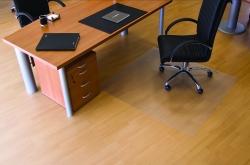 Ecogrip® Bodenschutzmatte für glatte/ harte Böden - Form 0, 130 x 120 cm