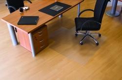 Ecogrip® Bodenschutzmatte für glatte/ harte Böden - Form U, 120 x 130 cm