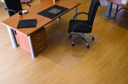 Ecogrip® Bodenschutzmatte für glatte/ harte Böden - Form L, 150 x 120 cm
