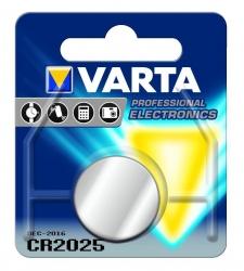 Batterien Electronics Lithium - CR 2025, 3 V