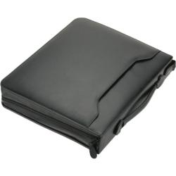 Tagungsmappe AREZZO - A4, Echt Leder, schwarz