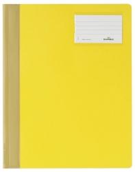 Schnellhefter, Hartfolie, DIN A4 überbreit, gelb