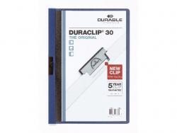 Klemm-Mappe DURACLIP® 30, DIN A4, dunkelblau