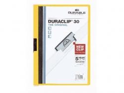 Klemm-Mappe DURACLIP® 30, DIN A4, gelb