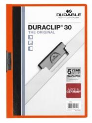 Klemm-Mappe DURACLIP® 30, DIN A4,orange