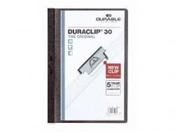 Klemm-Mappe DURACLIP® 30, DIN A4,schwarz