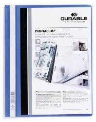 Angebotshefter DURAPLUS®, strapazierfähige Folie, A4+, blau