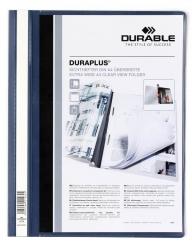 Angebotshefter DURAPLUS®, strapazierfähige Folie, A4+, dunkelblau
