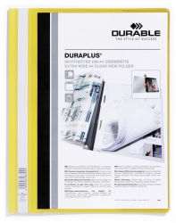 Angebotshefter DURAPLUS®, strapazierfähige Folie, A4+, gelb
