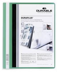 Angebotshefter DURAPLUS®, strapazierfähige Folie, A4+, grün
