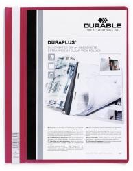 Angebotshefter DURAPLUS®, strapazierfähige Folie, A4+, rot