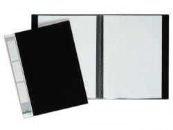 Sichtbuch DURALOOK® - A4, 10 Hüllen, 9 mm, schwarz