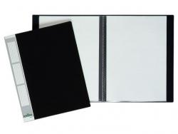 Sichtbuch DURALOOK® - A4, 30 Hüllen, 20 mm, schwarz
