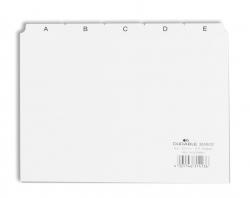 Leitregister A-Z - DIN A5 quer, weiß