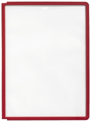 Sichttafel SHERPA® PANEL A4, rot