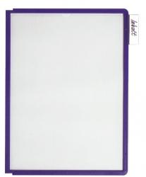 Sichttafel SHERPA® PANEL A4, blau violett