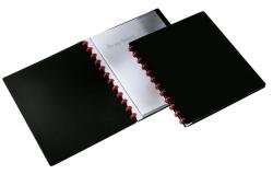Ringmappe DURALOOK® EASY - 20 Hüllen, A4, schwarz