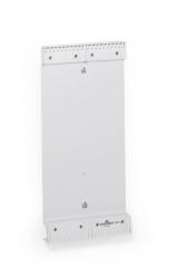 Sichttafelsystem FUNCTION WALL Module - grau, für 20 Tafeln A5, 148 x 322 mm