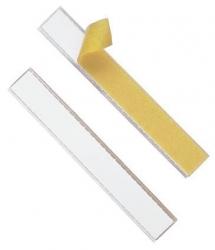 Schilderrahmen Schildfix, mit Blanko-Einsteckschild, 200 x 20 mm, 10 Stück