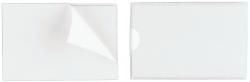 Selbstklebetasche POCKETFIX® - 90x57 mm, seitlich offen, transparent, 10 Stück