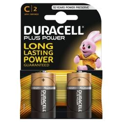 Batterien PLUS POWER Alkaline - Baby/LR14/C, 1,5 V
