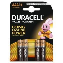 Batterien PLUS POWER Alkaline - Micro/LR03/AAA, 1,5 V