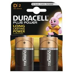 Batterien PLUS POWER Alkaline - Mono/LR20/D, 1,5 V